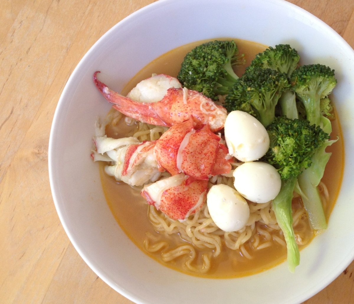 instant ramen deluxe - the lobster edition | yangsze choo