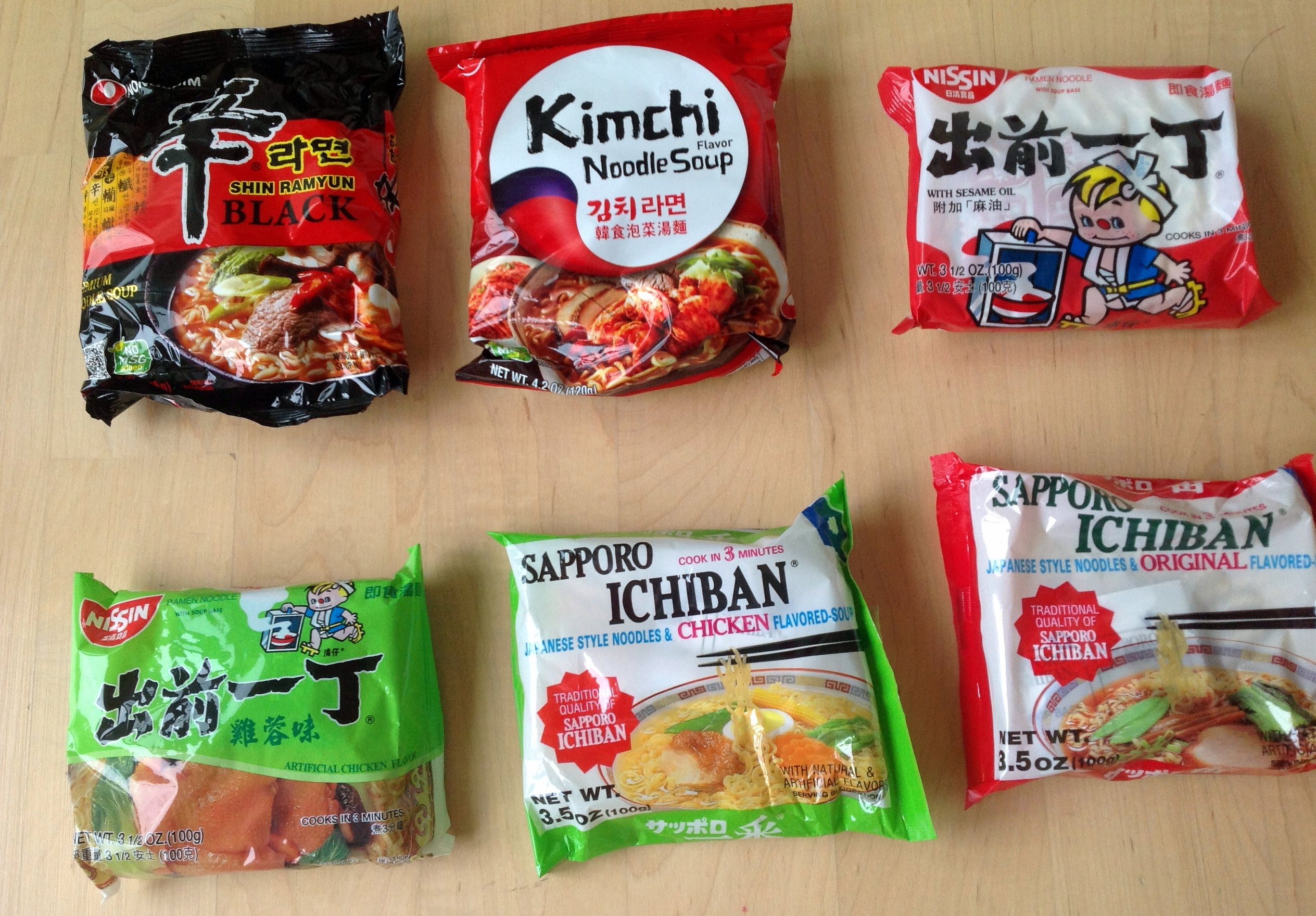 Asian noodle brands